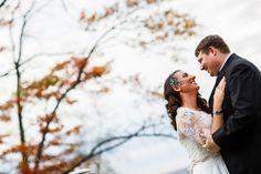 Lake Naomi Wedding Photos. Fall foliage.  Poconos, PA Anastasia Romanova Photography