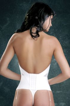 481ebb9a84 Flattering Me Bridal Bustier Extender Style 728 Bridal Bustier - Bridal Bra  Styles Color  White