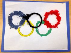 Art with Mr. Giannetto: 1st Grade: Olympic Rings
