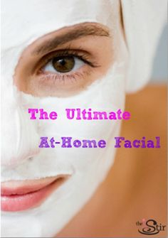You don't need to shell out money for the spa -- Step-by-step guide to the ultimate at-home facial http://thestir.cafemom.com/beauty_style/167037/5_steps_to_giving_yourself?utm_medium=sm&utm_source=pinterest&utm_content=thestir