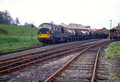 The Hemyock Branch Railroad Photography, Devon And Cornwall, British Rail, Old Trains, Diesel Locomotive, Tanks, The Unit, Green, Pictures
