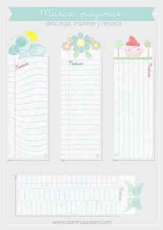 Dianthusa-Paris: Imprimible: Marcapáginas divertidos 2017 Planner, Erin Condren Life Planner, Day Planners, Planner Organization, Scrapbook Stickers, Printable Paper, Card Tags, Journal Cards, Organizer