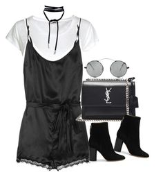 """""""Sem título #1293"""" by oh-its-anna ❤ liked on Polyvore featuring Acne Studios, Mimi Holliday by Damaris, Spektre, Yves Saint Laurent and Isabel Marant"""