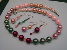 Discount Easter Glass Pearl Necklace.3 FREE by MyGrandmasHome