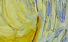 Miles Island: Google's Art Project - detail from Starry Night by Van Gogh