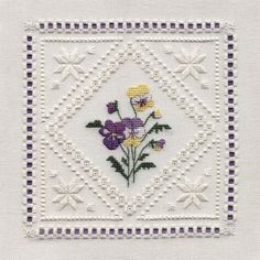 Hardanger Patterns | FREE HARDANGER EMBROIDERY CHARTS - Embroidery ...