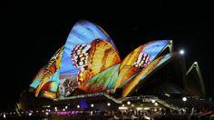 Stunning Light Displays at Vivid Sydney