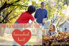 When something breaks your homeschool heart, it can be incredibly hard to get up and keep fighting. Kara shares ways her family is moving on.