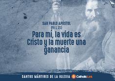 Biblioteca de Catholic-Link - Galería: Frases de santos mártires