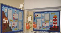 The Lighthouse Keeper's Lunch classroom display photo - Photo gallery - SparkleBox School Displays, Classroom Displays, Lighthouse Keepers Lunch, Reggio Classroom, Classroom Resources, Katie Morag, Talk 4 Writing, Creative Teaching, Teaching Ideas