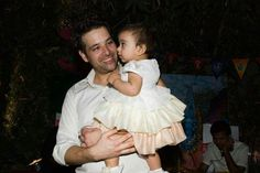 Mikaal zulfiqar with cute daughter...
