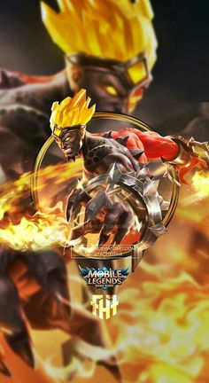 Wallpaper Phone Gord Hell Fire by FachriFHR on DeviantArt Iphone Wallpaper Ios 11, Wallpaper Hp, Mobile Legend Wallpaper, Anime Wallpaper Phone, Bruno Mobile Legends, Alucard Mobile Legends, Golden Warriors, Christmas Carnival, The Legend Of Heroes