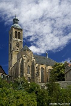 James church in Kutná Hora (Central Bohemia), Czechia Prague, Destinations, Sacred Architecture, Europe Photos, The Monks, European Countries, Place Of Worship, Old City, Travel Europe