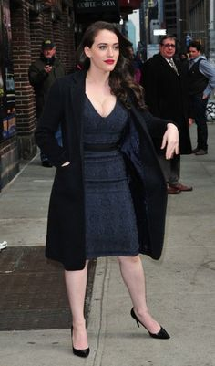 Kat Dennings Photos: Celebs Stop by the 'Late Show With David Letterman'