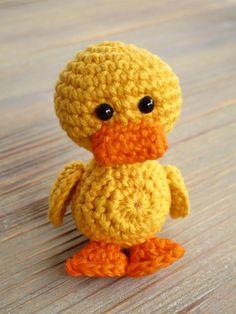 Tamigurumi: Ducky (free Dutch pattern)