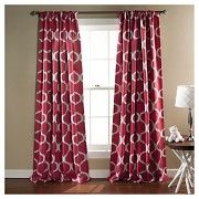 Geo Blackout Curtain Panels Set of 2