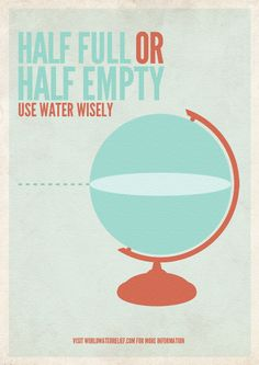 Use water wisely!