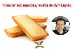 recette simple de Cyril Lignac , financier aux amandes : Faire fondre le beurre à la casserole jusqu'à ce qu'il prenne une couleur noisette.Mélanger le