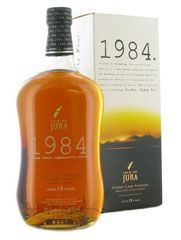 Isle of Jura 1984: Free from newspeak I am proud to say that this is a fantastic whisky with which to read Orwell's works (or indeed any book)!