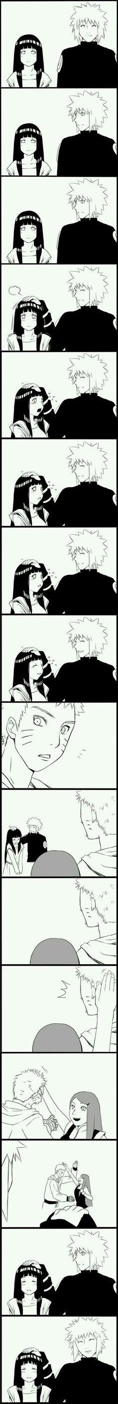 Naruto,Hinata,Kushina, and Minato