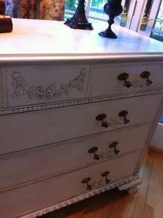 refinishing a dresser