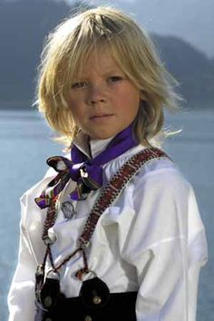 A little Viking in Norway See Annie--your mom's not the only one who dressed you this way :) I guess I was a Swedish mother in another life!