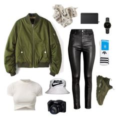 """Set #37"" by jeongmina on Polyvore featuring Shinola, H&M, NIKE, adidas and ROSEFIELD"