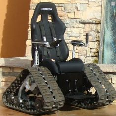 The Tank Chair 'OffRoad' Wheelchair - Saw this on the Today Show www.tankchair.com by TC mobility AWESOME!