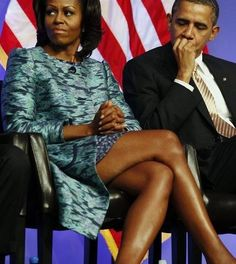 First lady Michelle Obama sits next to U. President Barack Obama while listening during the groundbreaking ceremony at the construction site of the Smithsonian National Museum of African American History and Culture in Washington, February Michelle Obama Fashion, Michelle And Barack Obama, Black Love, Black Is Beautiful, Beautiful People, Beautiful Family, Durham, Joe Biden, Barack Obama Family