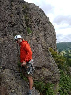 Rock climbing in the Lake District with Path to Adventure