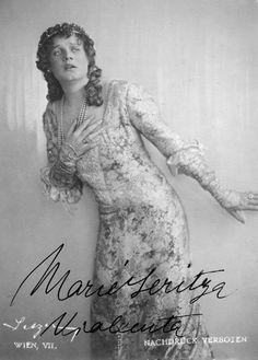Soprano Maria Jeritza