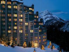 Banff, Alberta. Canada. Got married here.<3