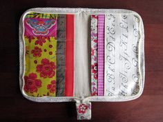 Zakka sewing zip organizer by StitchedInColor, via Flickr