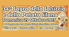 """34^ Sagra della Salsiccia e della Patata silana - Domenica 29 Ottobre 2017 nel Piazzale Hotel Olimpo – Villaggio Cuturasila – Taverna (CZ) Riparte la macchina organizzativa della 34^Edizione della """"Sagra della Salsiccia e della Patata Silana"""" che ormai da oltre tre decenni si preoccupa di rivalutare e far assaporare sotto più... - http://www.eventiincalabria.it/eventi/34-sagra-della-salsiccia-e-della-patata-silana/"""