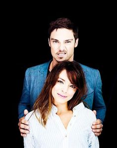 Jay Ryan & Kristen Kreuk Beauty and the Beast. I really really like this tv show because it is so cool!! The gorgeous Jay Ryan is just a bonus ;)