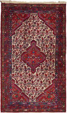 Red 4' 4 x 7' 1 Maymeh Persian Rug | Persian Rugs | iRugs UK