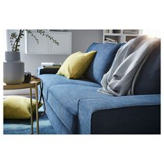 IKEA - GULLKLOCKA, Cushion cover, yellow, Chenille fabric feels ultra soft against your skin. The zipper makes the cover easy to remove. Classic Cushion Covers, Classic Cushions, Yellow Cushions, Seat Cushions, Chenille Fabric, Fabric Sofa, Ikea Bank, Sofa Frame, Sofa Covers