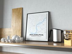 Now available in our store: Premium Map Poste... Check it out here! http://shop.mapprints.co/products/premium-map-poster-of-philadelphia-pennsylvania-modern-ski-map-unframed-philadelphia-map-art?utm_campaign=social_autopilot&utm_source=pin&utm_medium=pin