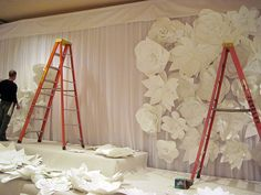 Flower Wall (paper LOVE)