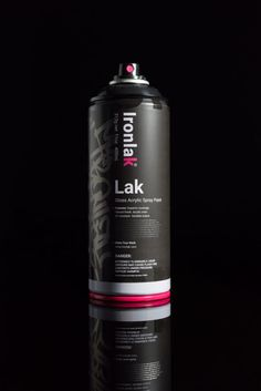 The best spray can in the world is here. Learn more about the new Lak by Ironlak – Gloss Acrylic Spray Paint. Created for graffiti writers and artists. Photography Lighting Setup, Lighting Setups, Light Photography, Label Design, Packaging Design, Branding Design, Graffiti Pictures, Aerosol Paint, Design Art