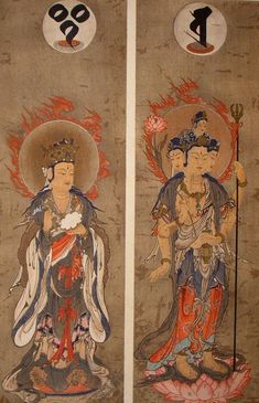 Brahma and Indra - 梵天 - Wikipedia