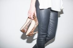 Leather & Leopard | Style Bee