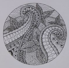 oodles—of—doodles:  Zendala Zendoodle by ~Cy~ on Flickr.
