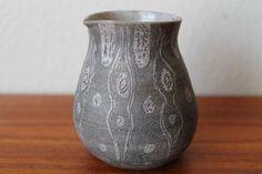 RARE Edna Arnow Ceramic Vase Mid Century Modern Vintage 1950s 1960s