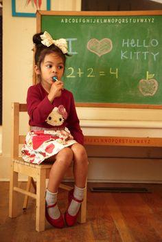 Misha Lulu Hello Kitty Crochet Tee
