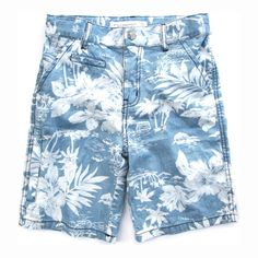 Cool boys style with a Hawaiian twist! With a tailored, comfy fit, these boys board shorts are made to go anywhere and do anything. Features an adjustable elastic waistband, zip/snap fly, 6 pockets. $42 on appaman.com.