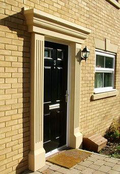 Fluted Door Surround