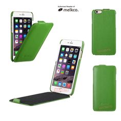 f6393beab6f2 Genuine MELKCO Green Jacka Premium Leather Case Cover for Apple iPhone 7  4.7