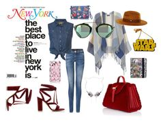 """FUN!!"" by aninda93 on Polyvore featuring Dorothy Perkins, Meli Melo, Gianvito Rossi, Kate Spade, Marvel Comics, Chicnova Fashion, women's clothing, women's fashion, women and female"