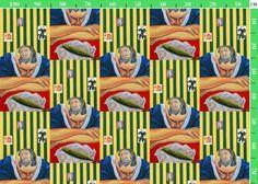 fabric design  - Henk van Merkom - oil on canvas -